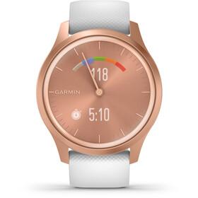Garmin Vivomove Style Reloj Inteligente, rosa/blanco